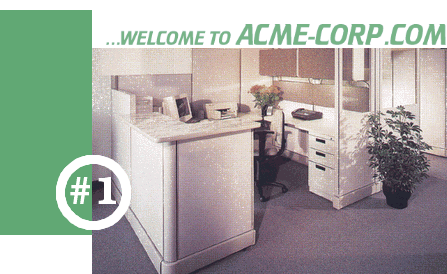 ACMECorp, Inc. Home Page